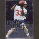 KEVIN FAULK 1999 Skybox Dominion Gen Next Rookie - LSU & New England Patriots