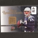 TOM BRADY 2006 Ultra Achievement - New England Patriots & Michigan Wolverines