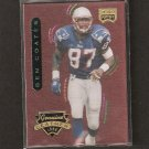 BEN COATES - 1996 Playoff Contenders LEATHER - Patriots & Livingstone College