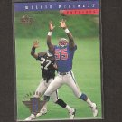 WILLIE McGINEST 1994 Upper Deck Rookie - Patriots, Browns & USC Trojans