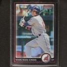 SHIN-SOO CHOO - 2010 Bowman Chrome REFRACTOR - Cleveland Indians