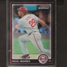 RAUL IBANEZ - 2010 Bowman Chrome REFRACTOR - Philadelphia Phillies