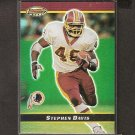 STEPHEN DAVIS 2000 Bowman's Best Players Refractor - Redskins & Auburn Tigers