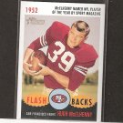 HUGH McELHENNY 2006 Topps Heritage Flashbacks - 49ers & Washington Huskies