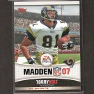 TORRY HOLT 2006 Topps Madden EA Sports - Rams & NC State Wolfpack