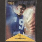 SCOTT MITCHELL - 1995 Pinnacle Trophy Collection - Lions & Utah