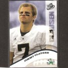 JIMMY CLAUSEN 2010 Press Pass Wal-Mart Exclusives Rookie - Panthers & Notre Dame