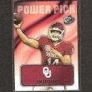 SAM BRADFORD 2010 Press Pass Power Play Rookie - Rams & Oklahoma Sooners