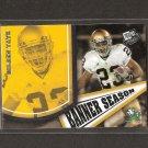GOLDEN TATE 2010 Press Pass Banner Season Rookie - Seahawks & Notre Dame