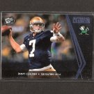 JIMMY CLAUSEN 2010 Press Pass SILVER & BLUE Rookie x2 - Panthers & Notre Dame