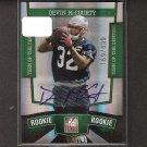 DEVIN McCOURTY - 2010 Donruss Elite Autograph Rookie #169/499 Card - Patriots & Rutgers