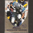 WINSLOW OLIVER - 1997 Action Packed Gold Impressions - Panthers & New Mexico Lobos