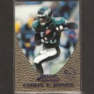CHRIS T. JONES - 1997 Action Packed Gold Impressions - Eagles & Miami Hurricanes