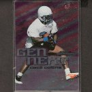 CECIL COLLINS 1999 Skybox Dominion Gen Next ROOKIE - Dolphins & LSU Tigers