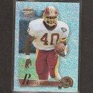 REGGIE BROOKS 1995 Score Summit Ground Zero - Redskins & Notre Dame