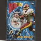 BRIAN MITCHELL 1997 Topps Season's Best - Redskins & Southwestern Louisiana