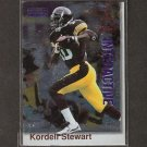 KORDELL STEWART 1996 Pro-Line Interactive - Steelers & Colorado Buffaloes