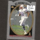 CHRIS SANDERS 1996 Upper Deck Silver All-Rookie Team - Oilers & Ohio State Buckeyes