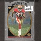 JJ STOKES 1996 Upper Deck Silver All-Rookie Team - 49ers & UCLA Bruins