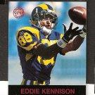 EDDIE KENNISON - 1997 Fleer Goudey Gridiron Greats Parallel - Rams & LSU Tigers