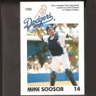 MIKE SCIOSCIA - 1989 Los Angeles Police Department - Dodgers & Angels