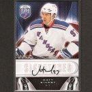 MATT GILROY - 2009-10 Be A Player Autograph ROOKIE - Boston University & NY Rangers