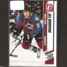 BRANDON YIP - 2010-11 Donruss Rated ROOKIE - Boston University & Avalanche