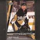 MARK LETESTU - 2010-11 Upper Deck Young Guns ROOKIE - Western Michigan & Penguins