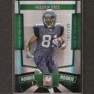 GOLDEN TATE - 2010 Donruss Elite Autograph Rookie Card - Seahawks, Lions & Notre Dame