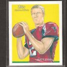 MATT RYAN - 2009 Topps National Chicle - BC Eagles & Atlanta Falcons