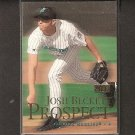 JOSH BECKETT - 2000 Skybox 2nd Year - Red Sox & Marlins