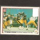 FRANCO HARRIS & TERRY BRADSHAW - 1983 Fleer Team Action Football - Pittsburgh Steelers