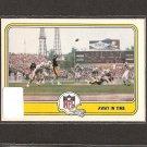 TERRY BRADSHAW - 1981 Fleer Team Action Football - Pittsburgh Steelers