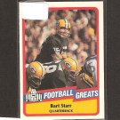 BART STARR - 1989 SWELL Football - Green Bay Packers & Alabama Crimson Tide