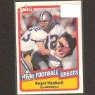 ROGER STAUBACH - 1989 SWELL Football - Dallas Cowboys & Navy