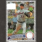 MAX SCHERZER 2011 Topps Diamond Parallel - Detroit Tigers