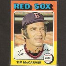 TIM McCARVER 1975 Topps - Boston Red Sox - Near Mint