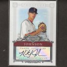 KRIS JOHNSON - 2007 Bowman Sterling Rookie Autograph -  Boston Red Sox