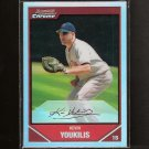 KEVIN YOUKILIS 2007 Bowman Chrome REFRACTOR - Red Sox