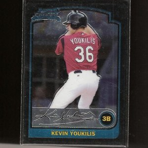 KEVIN YOUKILIS 2003 Bowman Chrome ROOKIE - Red Sox, White Sox