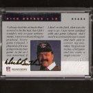 DICK BUTKUS - 1992 Proline Portraits Autograph - Chicago Bears & Illinois Fighting Illini
