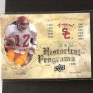CHARLES WHITE - 2011 Upper Deck Historical Programs Rookie - USC Trojans