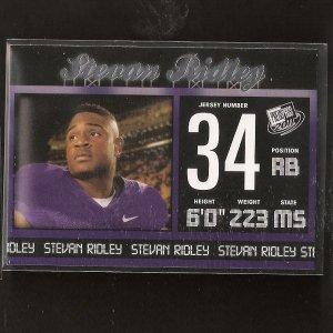 STEVAN RIDLEY - 2011 Press Pass Rookie - LSU Tigers