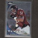 DARRYL SHARPTON - 2010 Topps Chrome Rookie - Texans & Miami Hurricanes