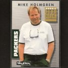 MIKE HOLMGREN - 1992 Skybox Primetime ROOKIE - Packers, Browns, Seahawks, BYU & USC Trojans