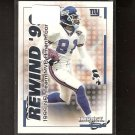 AMANI TOOMER 2000 Impact Rewind '99 - New York Giants & Michigan Wolverines