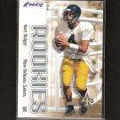 MARC BULGER 2000 Skybox Rookie - Rams, Ravens Saints & West Virginia Mountaineers