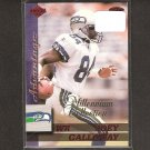 JOEY GALLOWAY - 1999 Collector's Edge Advantage Millenium Collection - Seahawks & Ohio State