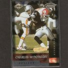 CHARLES WOODSON - 1999 Collector's Edge Fury Gold Ingot Millenium Collection - Raiders & Wolverines