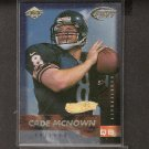 CADE McNOWN - 1999 Collector's Edge Fury Gold Ingot Millenium Collection RC - Bears & UCLA Bruins